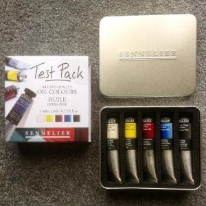 sennelier-oil-paint-sample-set